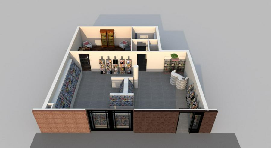 Bild 6: Neubau & Zentral - Nur noch 1 Fläche verfügbar. Frei ab sofort.