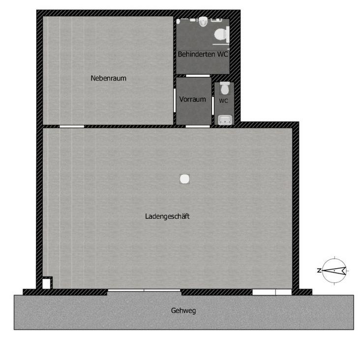 Bild 4: Neubau & Zentral - Nur noch 1 Fläche verfügbar. Frei ab sofort.