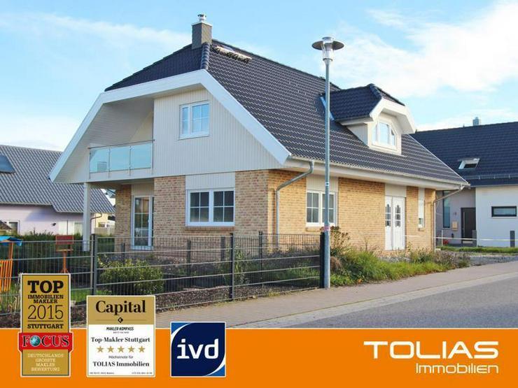 Neubau Energiesparhaus in Neuhausen-Schellbronn in naturnaher Lage - Haus kaufen - Bild 1