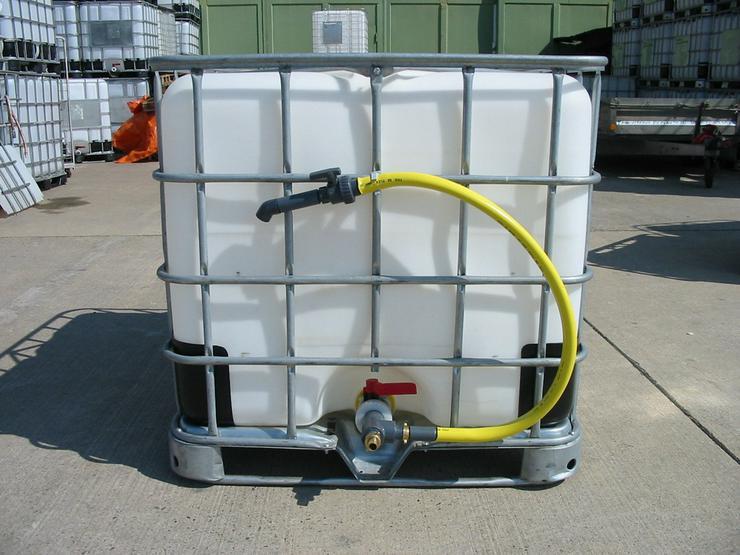 Bild 2: Regenwassertank 1000 L