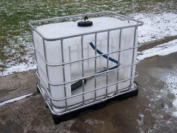 Bild 3: Regenwassertank 1000 L
