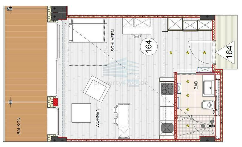 Stilvoll möbliertes und barrierefreies Apartment mit Balkon in München-Bogenhausen - Wohnen auf Zeit - Bild 1