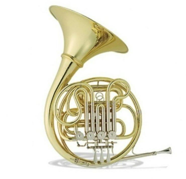 Hans Hoyer 801 A-L Doppelhorn, Neuware - Blasinstrumente - Bild 1
