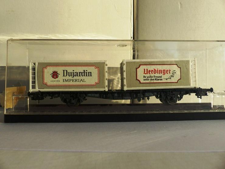 RÖWA-Containerwagen Nr.2317 für Gleichstrom - Spur H0 - Bild 1