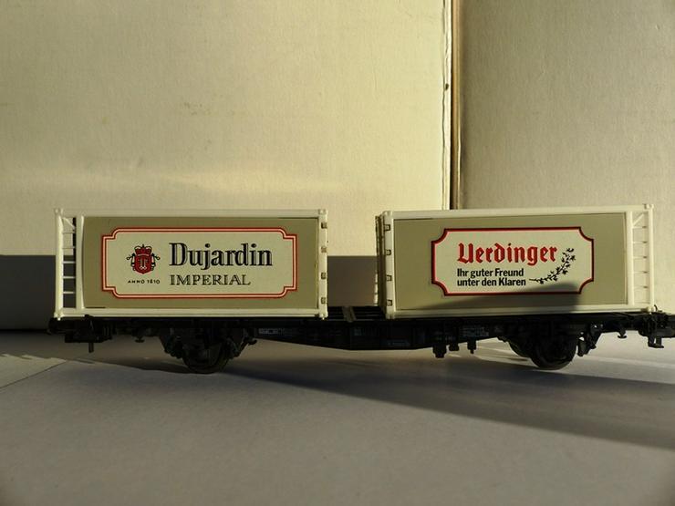 Bild 2: RÖWA-Containerwagen Nr.2317 für Gleichstrom