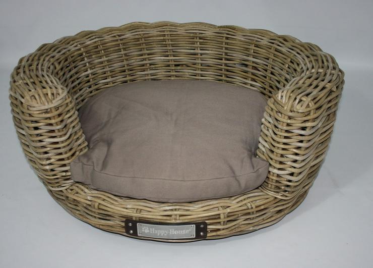 luxus hundesofa aus rattan rund 80 cm in pottenstein waidach bayern auf. Black Bedroom Furniture Sets. Home Design Ideas