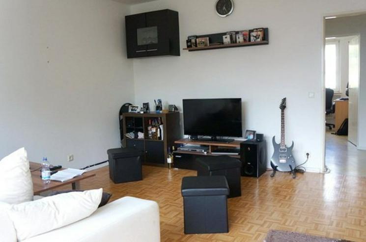 Bild 2: Ein Monat mietfrei ! Wohnen in Horn-Lehe - Sonnige 3-Zimmer-Wohnung mit Balkon in ruhiger ...
