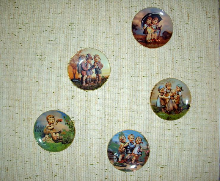 5 original Hummel Wandteller