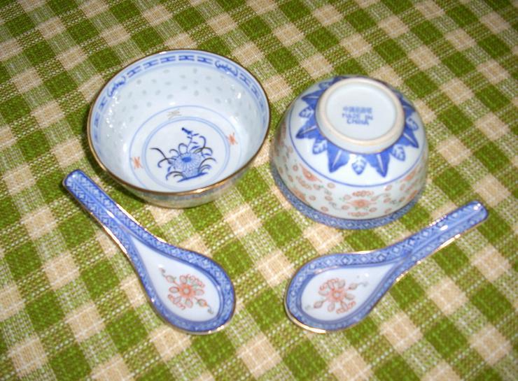 2 Schalen aus China