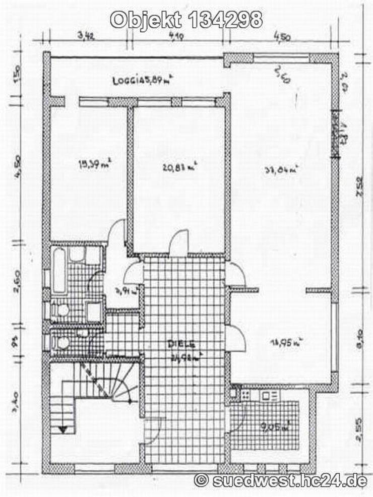 Bild 15: Mannheim-Lindenhof: Schöne Wohnung in ruhiger, verkehrsgünstiger Lage auf Zeit