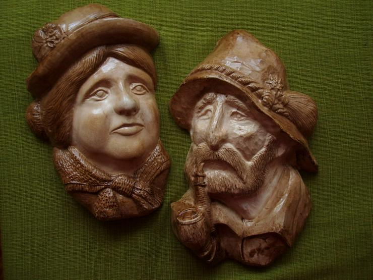 2 Köpfe Frau und Mann