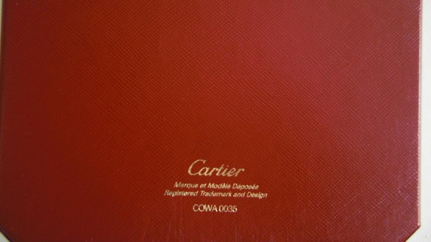 Bild 3: CARTIER Original Uhrenbox COWA 0035
