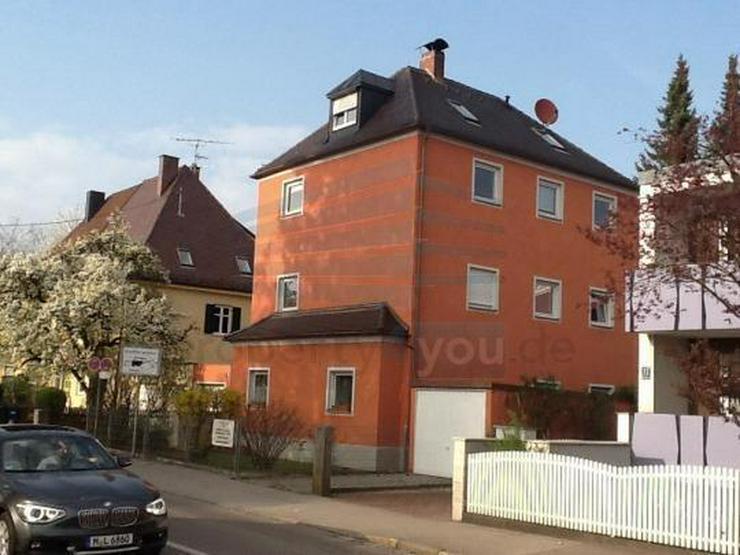 Bild 3: Individuelle möblierte 1-Zimmer Wohnung in ausgebautem Dachgeschoß in München Aubing