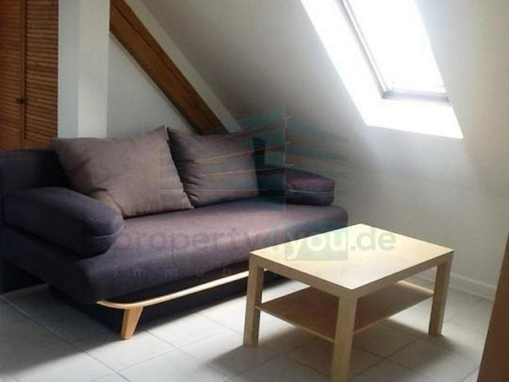 Individuelle möblierte 1-Zimmer Wohnung in ausgebautem Dachgeschoß in München Aubing