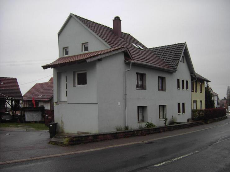 Großes, renovierungsbedürftiges Doppelhaus in Fahrenbach - Haus kaufen - Bild 1