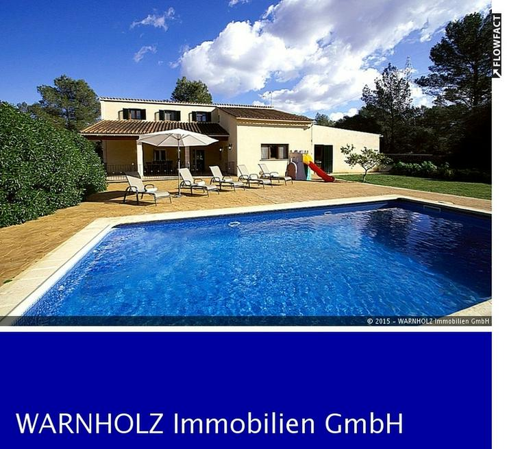Komfortable Finca mit Pool, Sencelles - Haus kaufen - Bild 1