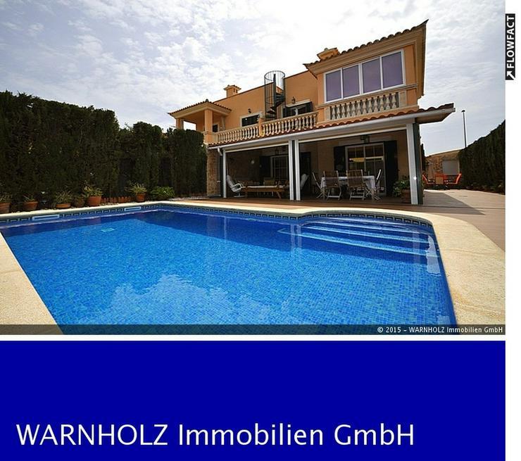 Schönes Doppelhaus mit Garten und Pool, Puigderr - Haus kaufen - Bild 1