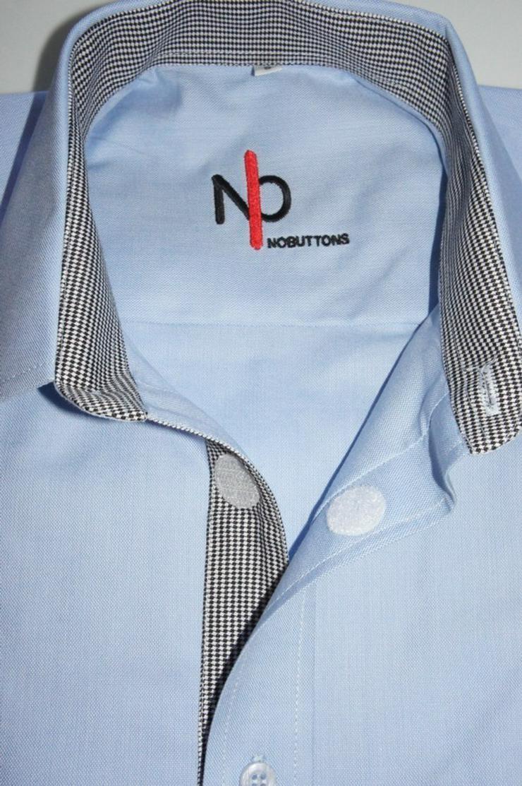 Bild 2: Herrenhemd mit Klettverschluss