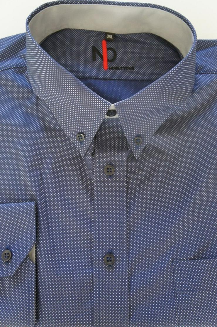 Bild 4: Herrenhemd mit Klettverschluss