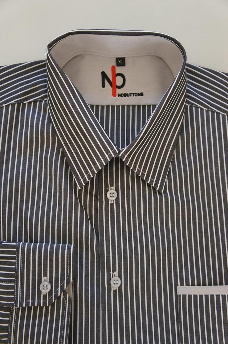 Bild 6: Herrenhemd mit Klettverschluss