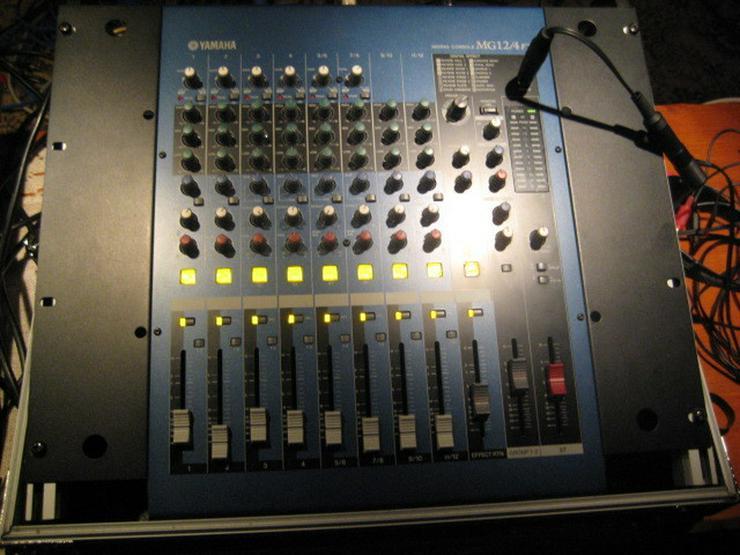 Yamaha 8 Kanal Mixer MG 12 / 4 Fx - Verstärker & Effekterzeugung - Bild 1