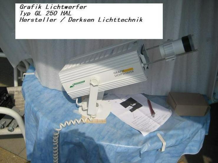 Grafik Lichtwerfer GL 250 HAL - Scheinwerfer & Effekterzeugung - Bild 1
