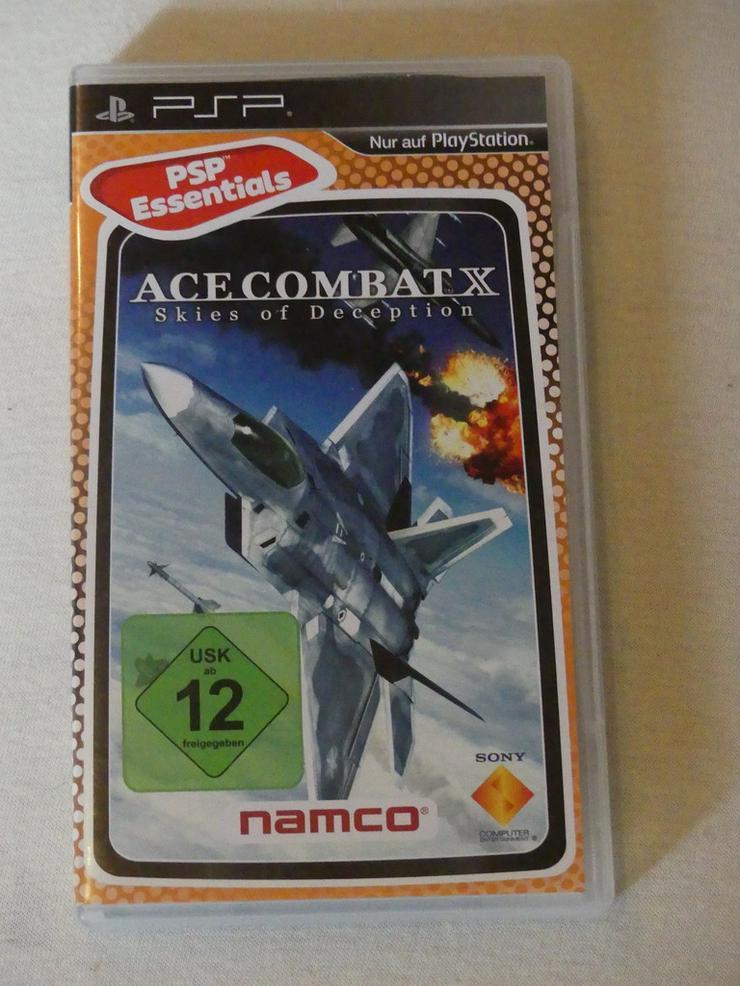 Ace Combat M Skies of Deception, PSP-Spiel