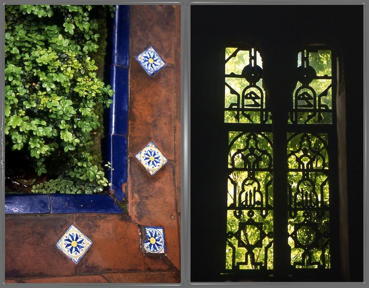 Alcazar Blicke 2 Fotos unter Rahmen, je 80x60cm - Bild 1