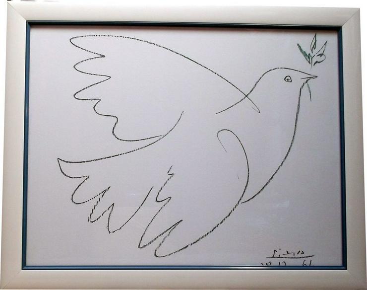 Lithographie la colombe bleue von picasso in v rstetten auf - La chambre bleue picasso ...