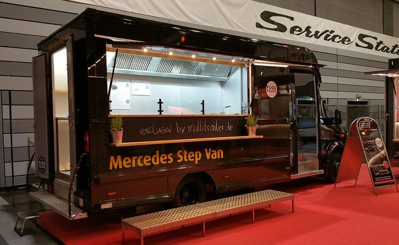 Food Truck Step Van Profi Grill