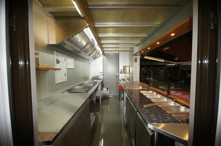 Bild 7: Food Truck Step Van Profi Grill