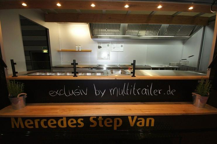 Bild 3: Food Truck Step Van Profi Grill