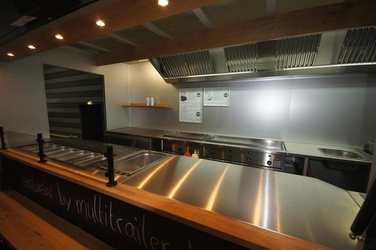 Bild 5: Food Truck Step Van Profi Grill