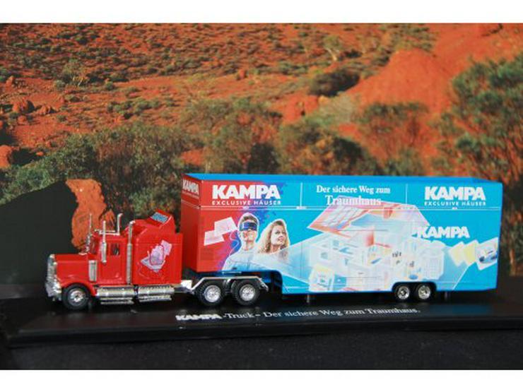 Sammlerstück KAMPA Truck mit Zertifik