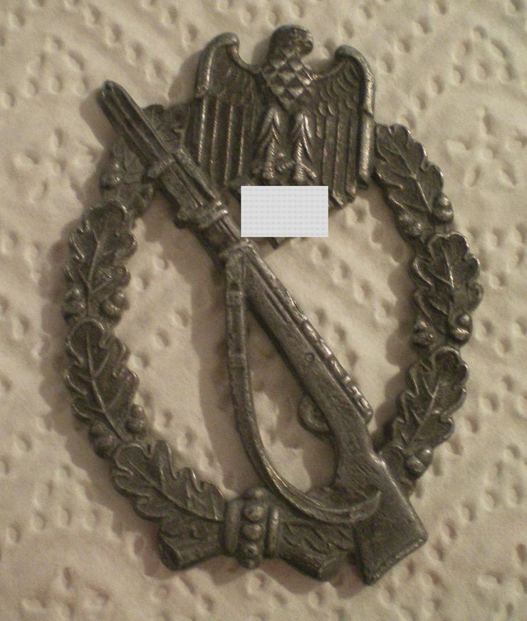 Bild 3: Infanterie Sturmabzeichen WK II (VB) noch 1 x Preis runter gesetzt !