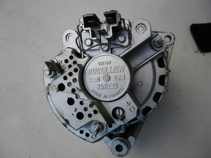 Lichtmaschine Ducellier Nr.7564A  Oldtimer