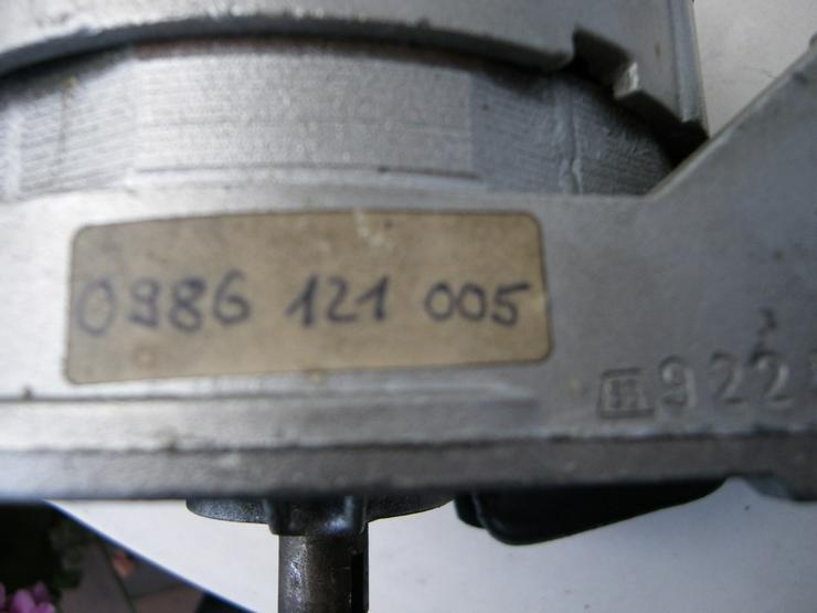 Bild 4: Lichtmaschine Ducellier Nr.7564A  Oldtimer