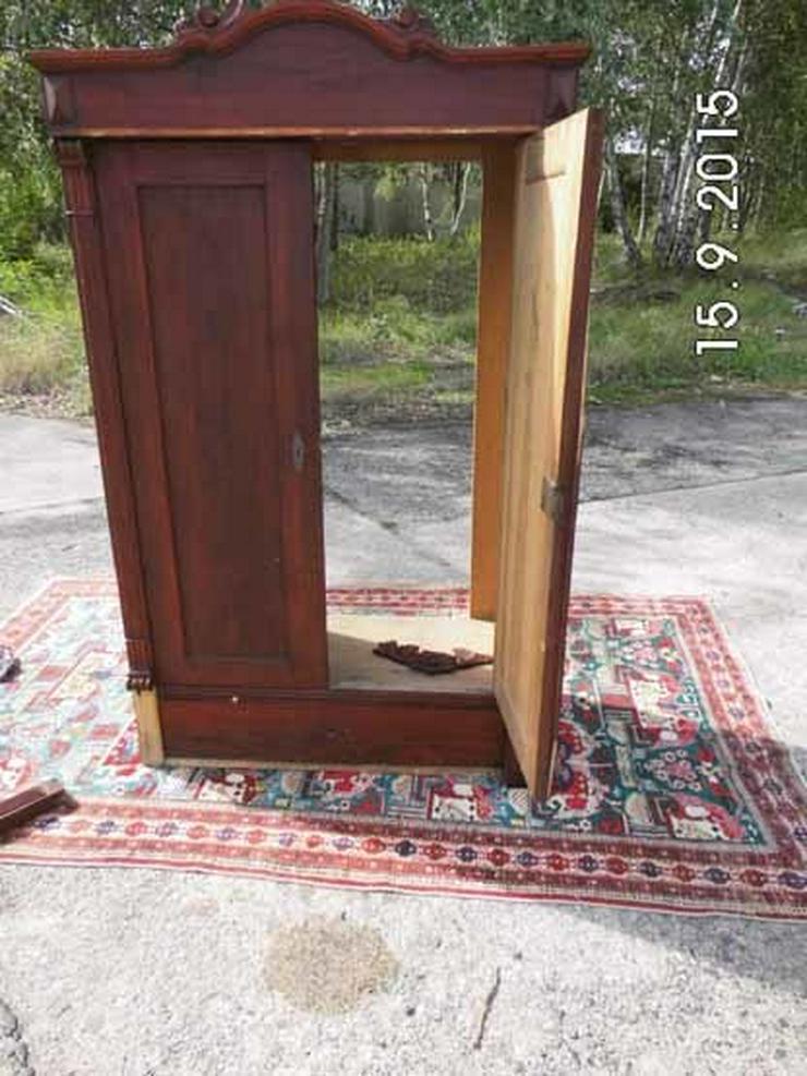 Bild 5: Antiker Dielenschrank zweitürig / Kleiderschra