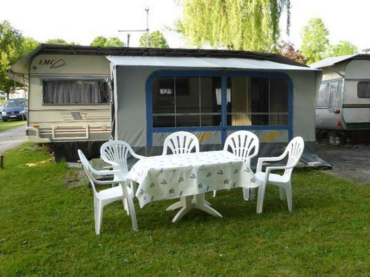 Bild 2: Camping a. Bodensee, Mietwohnwagen