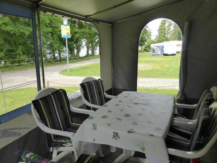 Bild 3: Camping a. Bodensee, Mietwohnwagen