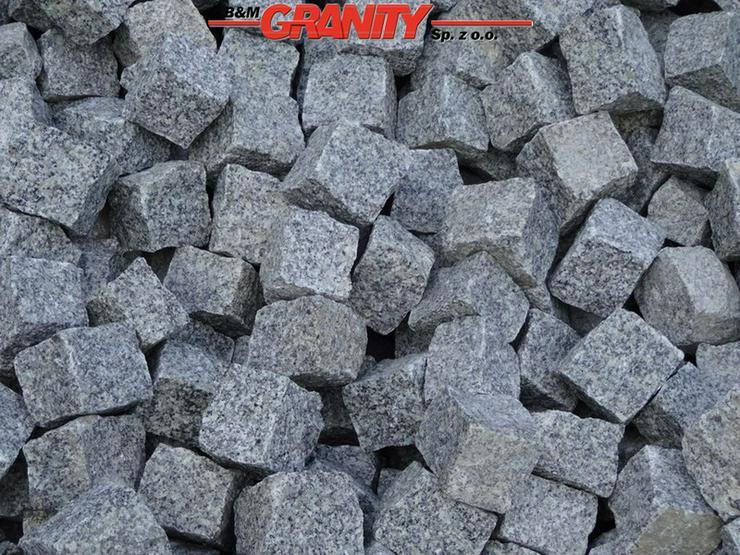 Granit-Pflastersteine und andere Natursteinen