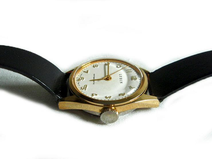 Bild 3: Seltene Armbanduhr von Lubin