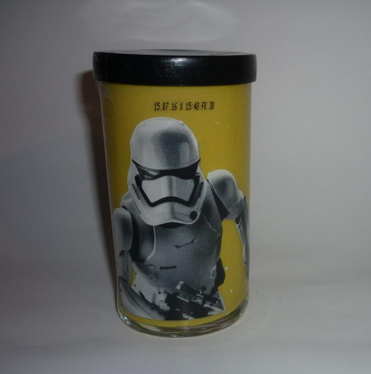 STAR WARS  Stormtrooper  Senf Sammelglas