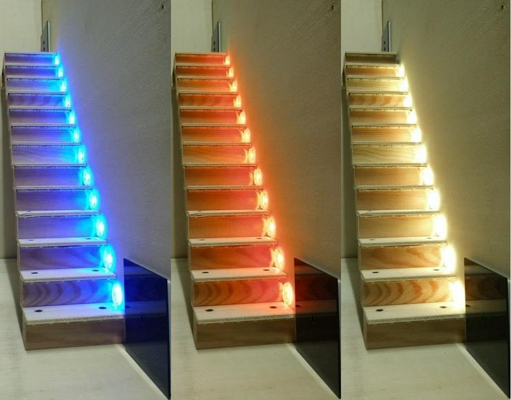 Autom. LED Treppenbeleuchtung ASLT16 RGB Light