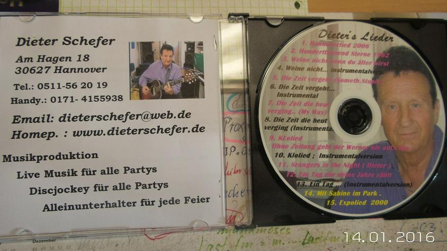 Bild 2: Geburtstags u. Party CD  mit Karaoke-Version
