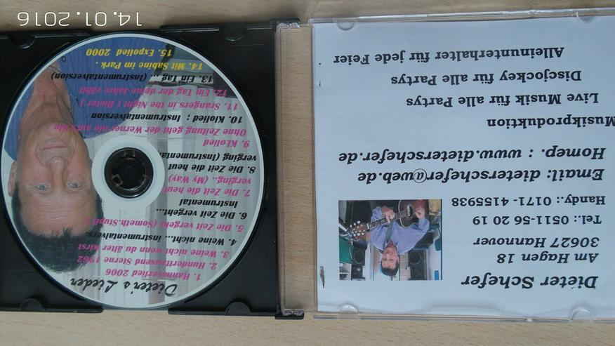 Bild 4: Geburtstags u. Party CD  mit Karaoke-Version