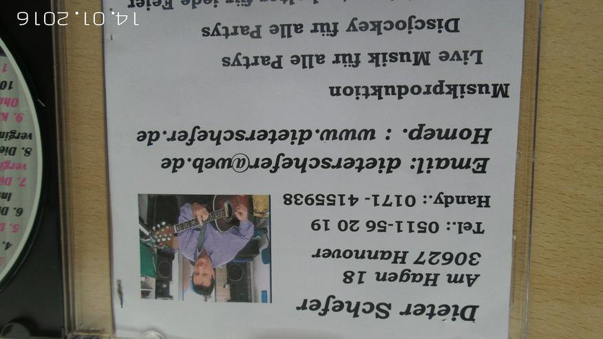 Bild 6: Geburtstags u. Party CD  mit Karaoke-Version