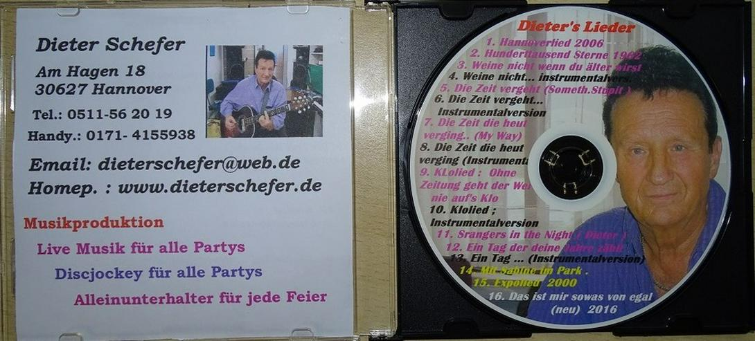Geburtstags u. Party CD  mit Karaoke-Version - CD - Bild 1