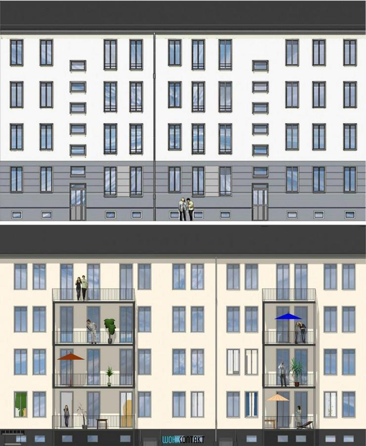 Bild 2: Exzellent sanierte 4-Zimmer-Stadtwohnung * Baubeginn Sommer 2016