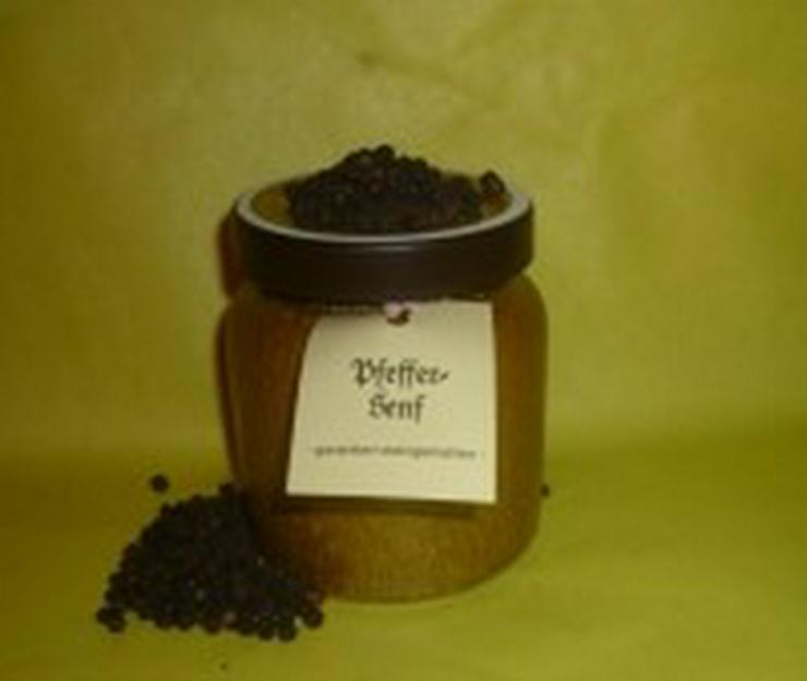 Pfeffer Senf   Thüringen 270 ml im Steintopf - Gewürze - Bild 1